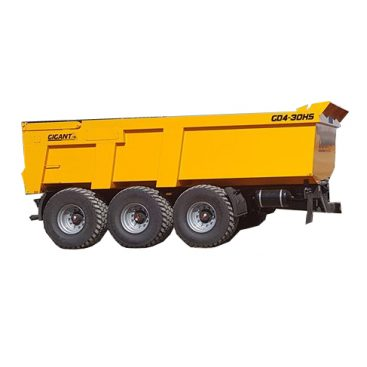 Žemaitukas MD-300 sunkių krovinių puspriekabė (damperis)