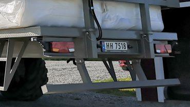 Žemaitukas MF-160 rulonų platforma, platforma rulonams, dėžėms