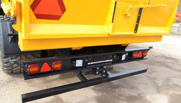 12V elektros sistema, puspriekabe, grudu priekaba, trailer