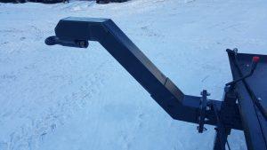 Extendable height drawbar Mustang Zemaitukas lowbed tractor trailer Drawbar