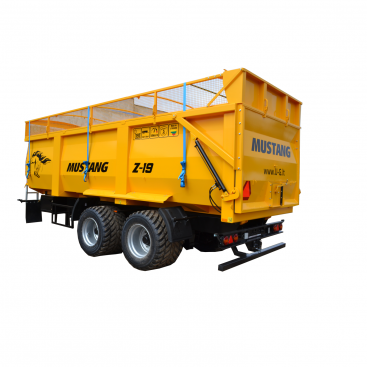 MUSTANG Z-19 Trailer for grain, silage, trailer for grain and bulk materials.