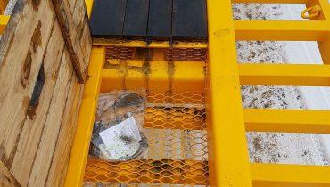 Žemaitukas žemagrindė platforma ML F - tralas skirti miško technikai
