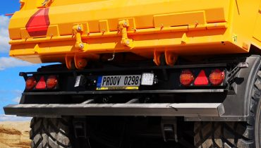 Mustang trailer rear bumper