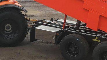 Mustang trailer ss steel tool box on side, nerudyjančio plieno įrankių dėžė