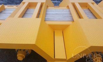 Universe Group ML-300F, transportation platform, platform, transportavimo platforma, zemagrinde platforma, tralas prie traktoriaus, traktorine priekaba, tractor trailer, mustang trailer, zemaitukas1