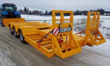 Universe Group ML-300F, transportation platform, platform, transportavimo platforma, zemagrinde platforma, tralas prie traktoriaus, traktorine priekaba, tractor trailer, mustang trailer, zemaitukas3