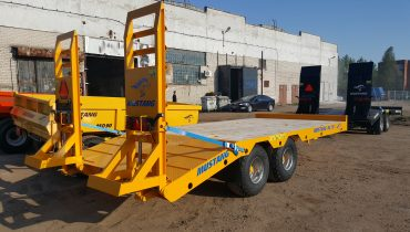 hydraulic ramp of mustang lowbed Gigant Lowbed Mustang Lowbed Zemaitukas Priekaba ML-110 14