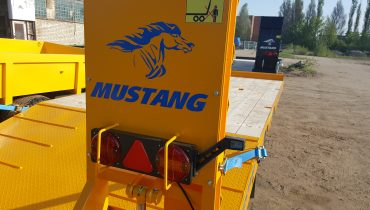hydraulisk rampen po maskin vagn Gigant Lowbed Mustang Lowbed Zemaitukas Priekaba ML-110 15