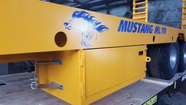 toolbox of Gigant Lowbed Mustang Lowbed Zemaitukas Priekaba ML-110 30