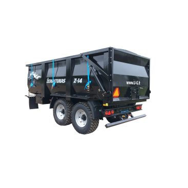 MUSTANG Z-14 Grain trailer, the trailer for grain and bulk materials