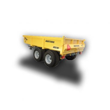 MUSTANG MD90 heavy duty dump trailer for sand