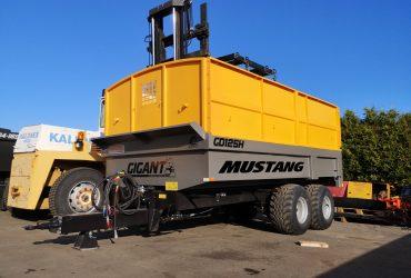 Mustang dump trailer, trailer for sand, dumper, mustang dumper, gigiant dumper, MD90 side tipping, extension sides