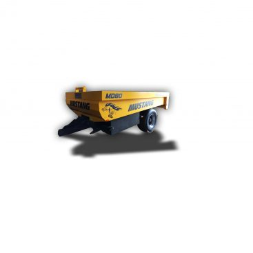 MUSTANG MD-80 heavy duty dump trailer for sand